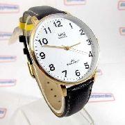 Relógio Masculino Pulseira Couro Q&q QZ00J104Y - Maq Citizen