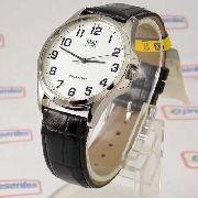 Relógio Masculino Pulseira Couro Q&q QA06J304Y (maq Citizen)