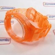Pulseira Champion Laranja Translucida Pr30919j 100% Original
