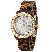 Relógio Feminino Ana Hickmann Analógico AH28106M Com Strass