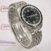 Relógio Citizen Wingman Verde 1ano Garantia Original JQ8008