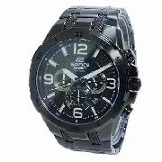 Relógio Casio Edifice EFR-538BK-1AV Black Ip Original C/nf