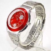 Relógio Feminino Champion Mostrador Vermelho CP20086R
