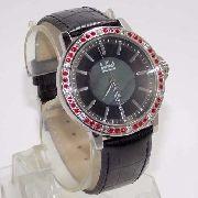 SX35196P Relógio Dumont Feminino Pulseira Couro Preto