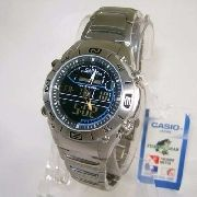 AMW-703D-1AV Relógio Casio OutGear Funções De Pesca