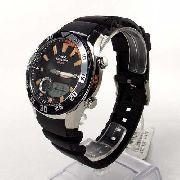 AMW-710 1AV Relógio Casio Marine Gear Graficos Mare Lua Novo