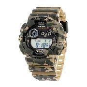 Relogio Casio Gshock Gd-120 Cm5dr Camouflage Serie