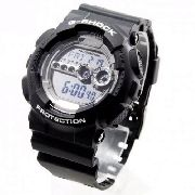 GD-100BW-1DR Relógio Casio Gshock Digital Black And Gray