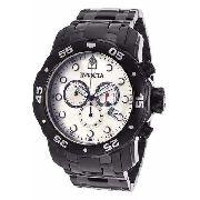 Relogio Invicta 80076 Prodiver Cronograph Black Ion-plate