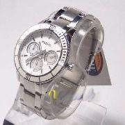 Relógio Feminino Fossil FES2783N Aço Mostrador Madreperola