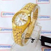 Relógio Feminino Orient Automatico Dourado Mini FNQ0400fW9