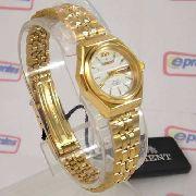 Relógio Orient Feminino Mini (25mm) Automatico Fnq09008w9 Dourado