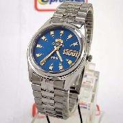 Relógio Masculino Orient Automatico Azul Fem6q00ej9 Original