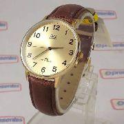 Relógio Masculino Pulseira Couro Q&q Qz00j103y - Maq Citizen