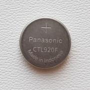 2 Capacitor Pilha Bateria solar CTTL920 Panasonic Para Relogios Casio