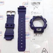 Pulseira + Capa Casio G-shock Azul Dw-9000 Dw-9051 Original