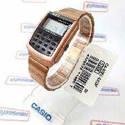 Relógio Casio Retrô Vintage Rosê Calculadora Ca-506c-5adf