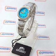 Relógio Orient Automatico Feminino Mini 25mm FNQ1A002L9
