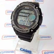 0080cb27f87 Ae-3000w 1avdf Relogio Casio Digital World Time Grande 55mm