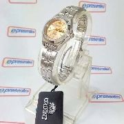 Relógio Feminino Orient Automático Pequeno Rosê Fnq1a00az9