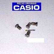 4 Parafusos Tampa Traseira de inox para Casio AMW-710