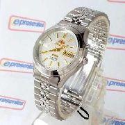 FEM0301XW9 Relógio Orient Automatico Prateado 36mm Autentico