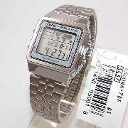 Relogio Casio A500WA-7DF World Time - Original - 1ano De Garantia