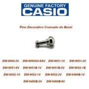 74239690  Bezel SCREW Pino Decorativo Cromado Casio G-Shock  DW-9052 DW-9000 DW-9051 DW-9400