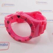 Pr30119d Pulseira Champion 100% Original Pink Rosa Brilhante