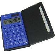 Sl-1110tv-bu Calculadora Casio Bateria Solar 10 Digitos,...