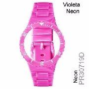 Pr30719d Pulseira Champion Avulsa Violeta Neon (rosa Chiclete)