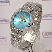 Relógio Masculino Orient Automatico Azul - Fem0401tl9