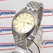Relógio Automático Orient Fem0401nc9 Original 36mm 3estrelas