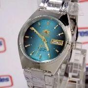Relógio Automático Orient Azul Fem0801ll9 100% Original 36mm