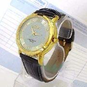 Relógio Masculino Pulseira Couro Sp8490 Mov Quartz Citizen