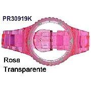 Pulseira Avulsa Original Champion Rosa Translúcida Pr30919k