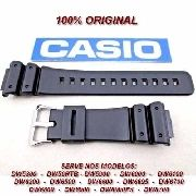 Pulseira Casio 100% Original G-shock 16MM Dw-5300 Dw-5900 Dw-8700 DW-56RTB DW-6000 DW-6100 DW-6200 DW-6500 DW-6600 DW-6695 DW-6700 DW-6800 DW-6900 DW-6900FS DW-8700