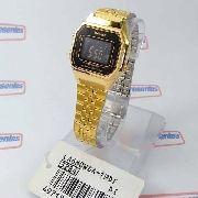 Relógio Feminino Casio Digital Dourado Vintage La680wga 1bdf