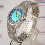 Relógio Orient Automático Azul 100% Original FEM6Q00DL9 37mm
