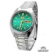 Relógio Orient Automático Verde FEM0401SF9 100% Autentico