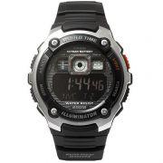 AE-2000W-1BV Relógio Casio Série Mundial Bateria 10anos 200m