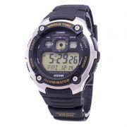 Ae-2000w 9av Relógio Casio Série Mundial Bateria 10anos 200m