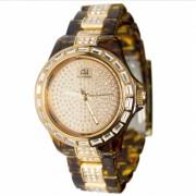 AH28099S Relógio Ana Hickmann Swarovski Acrilic Tortoise