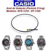Anel de Vedação (Packing/O'ring) Casio AMW-104 EFA-121D EFA-130D EF-336D EFA-132 G-001 G-1400 GW-A1100  GW-4000 SWC-06