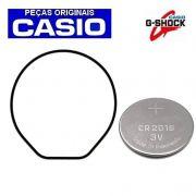 Anel de vedação traseiro + Bateria Casio G-shock DW-6900 DW-6600 DW-290 DW-0097