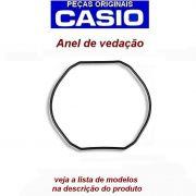 Anel Vedação Casio G-Shock G-300, G-301, G-302, G-303, G-304, G-306, G-313, G-314, G-315, G-350, G-351G-353, G-354, G-510, G-511, G-520, G-521,G-540