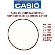 Anel Vedação O'ring Casio G-shock Giez Gs-300 Gs-1000 Gs-1001 Gs-1010 GS-1050 Gs-1100 GS-1150 EF-305 EF-528 EF-529 EF-530 EF-560 EFA-129 EFE-500 AMW-707 MTD-1070 MTD-1071
