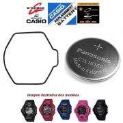 Anel Vedação O'ring G-9300 GW-9300 + Bateria Recarregavel