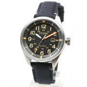 AW5000-24E Relógio Masculino Analógico Citizen Eco-Drive Pulseira Tecido