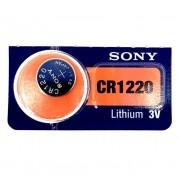 Bateria Lithium 3V  CR1220 SONY - ORIGINAL - PREÇO UNITARIO